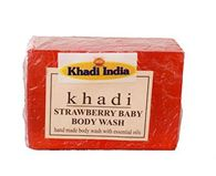 KHADI STRAWBERRY BABY BODY WASH