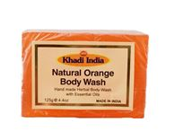 KHADI NATURAL ORANGE BODY SOAP